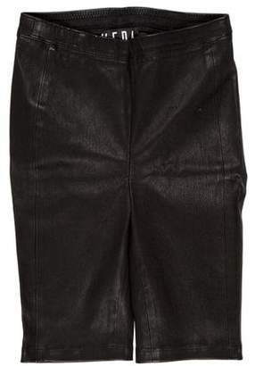 Veda Leather Bermuda Shorts w/ Tags