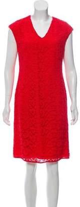 Rena Lange Sleeveless Knee-Length Dress w/ Tags