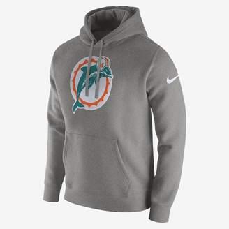 Nike Club (NFL Dolphins) Men's Fleece Pullover Hoodie
