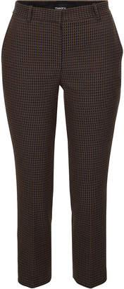 Theory Treeca Printed Jacquard Pants