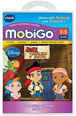 Vtech MobiGoTM Jake & the Never Land Pirates Cartridge