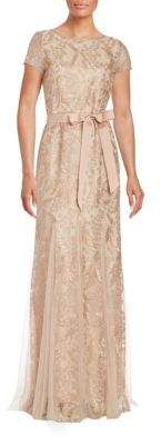 Embroidered Lace Gown $259 thestylecure.com