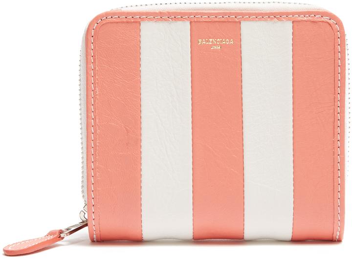 Balenciaga BALENCIAGA Bazar zip-around leather wallet