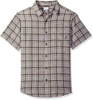 Columbia Men's Under Exposure Yarn Dye Short Sleeve Shirt