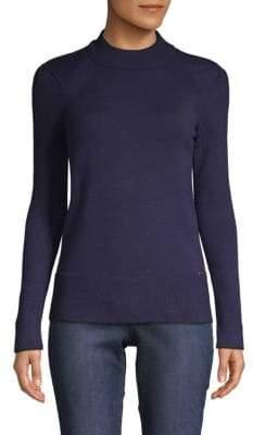 T Tahari Mockneck Sweater