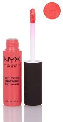 NYX Soft Matte Metallic Lip Cream - Manila