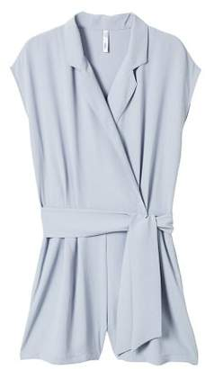 MANGO Wrap short jumpsuit