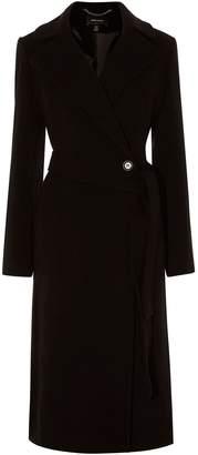 Karen Millen Long Fitted Wool Coat