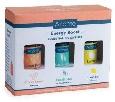 Bed Bath & Beyond Energy Boost 100% Pure 10 ml. Essential Oils Gift Set