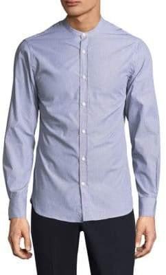 Officine Generale Gaspard Striped Button-Down Shirt