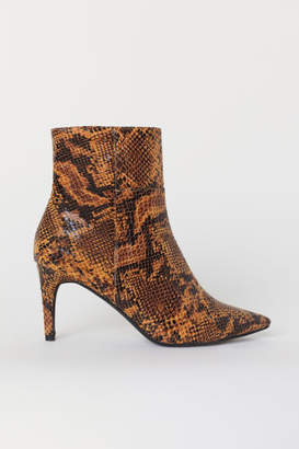 H&M Ankle Boots - Yellow