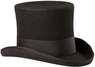 Scala Men's Wool Felt Top Hat