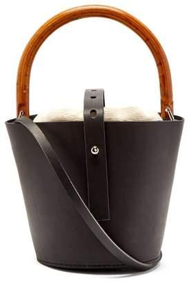Muun Louise Bucket Bag - Womens - Cream Multi