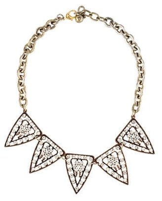 Lulu Frost Crystal Collar Necklace $75 thestylecure.com