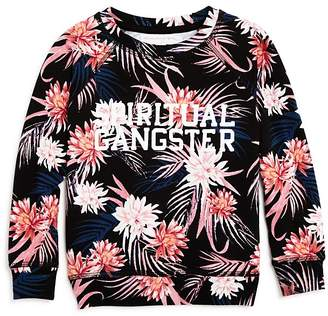 Spiritual Gangster Girls' Tropics Logo Sweatshirt - Little Kid, Big Kid