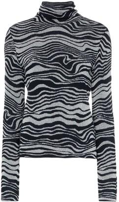 Sies Marjan Roos Waves jacquard knit turtleneck