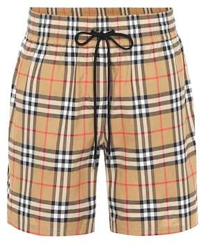 Burberry Vintage Check cotton shorts 4ab2e63ffa