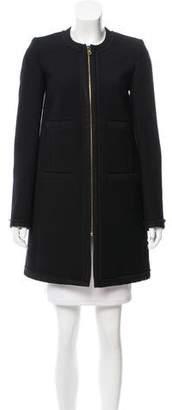 Emilio Pucci Strcutrued Wool Coat