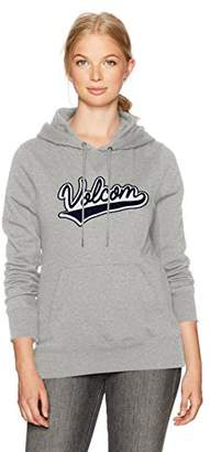 Volcom Women's Slidin' Pullover Hoody Fleece Sweatshirt