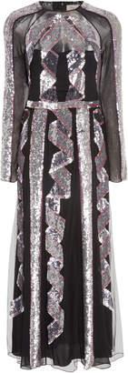 Temperley London Insignia Cut-Out Dress