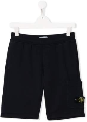 Stone Island Junior jersey shorts