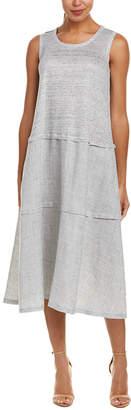 Lafayette 148 New York Leola Linen Midi Dress