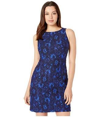 Lauren Ralph Lauren Toralina Two-Tone Dress