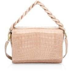 Nancy Gonzalez Carrie Crocodile Clutch