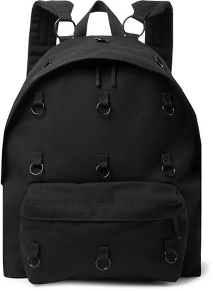 Raf Simons Eastpak Padded Pakr Embellished Canvas Backpack - Men - Black