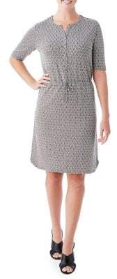 Olsen Drawstring-Waist Dress