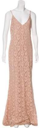 Alice + Olivia Lace Maxi Dress