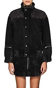 Givenchy Women's Denim Oversized Jacket - Black