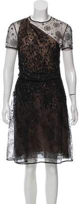 Valentino Embellished Cocktail Dress