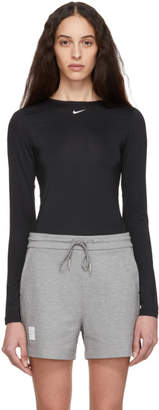 Nike Black Performance Long Sleeve T-Shirt
