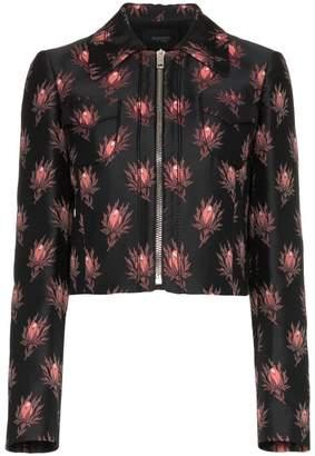 Giambattista Valli floral print cropped jacket