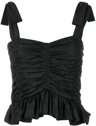 See by Chloe ruched sleeveless top