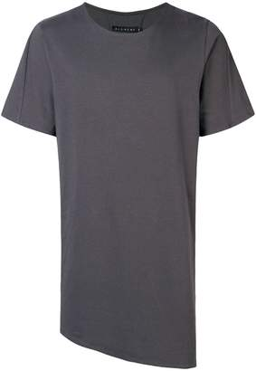 Alchemy asymmetric long T-shirt