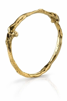 Esque Low Luv by Erin Wasson Bone Stack Bracelet in Gold