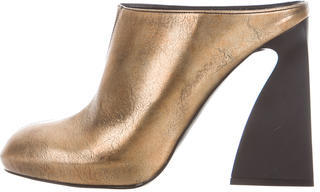 Stella McCartney Stella McCartney Vanessa Metallic Mules