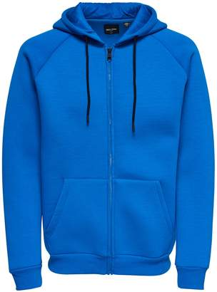 ONLY & SONS Full Zip Cotton Hoodie