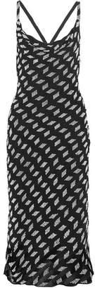 Cushnie et Ochs - Beaded Silk-chiffon Midi Dress - Black $2,295 thestylecure.com