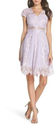 Foxiedox Florence Lace Fit & Flare Dress