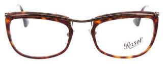 Persol Tortoiseshell Oval Eyeglasses