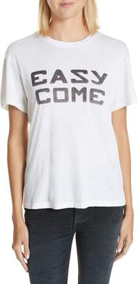 RE/DONE Easy Come Easy Go Girlfriend Tee