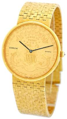Corum 18K Yellow Gold $6,690 thestylecure.com