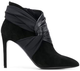 Balmain high heel booties