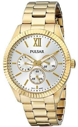 Pulsar Women's PP6140 Business Collection Gold-Tone Stainless Steel Watch