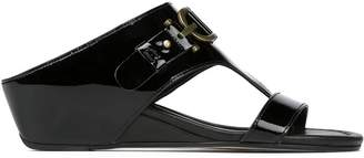 Donald J Pliner DAYNA, Patent Leather Wedge Sandal