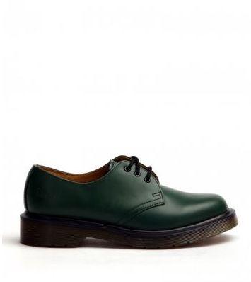 Dr. MartensDr. Martens 3 Eyelet Green Smoth Leather
