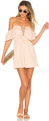 ale by alessandra Gabriela Mini Dress in Blush $170 thestylecure.com